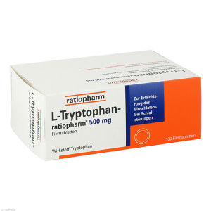L-Tryptophan-ratiopharm 500 mg